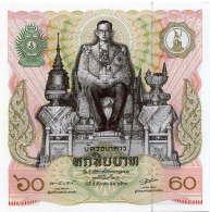 249-Thailande Billet De 60 Baht 1987 - 037 - Thailand
