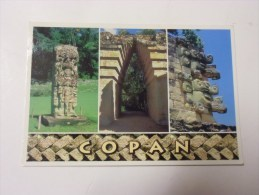 Honduras Ruinas De Copan ( 2 Timbres Neuf ) - Honduras