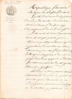 ACTE NOTARIE DU 24 JUIN 1848 JUGEMENT PAR DEFAUT CANTON DU CROISIC - Manoscritti