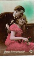 FANTAISIE--couple D'amoureux--( Fleurs )--voir 1 Scan - Femmes