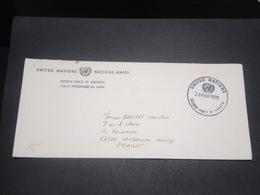 LIBAN - Enveloppe De La Mission Des Nations Unies En 1979 Pour La France En Franchise Postale - L 12301 - Libanon