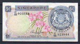 534-Singapour Billet De 1 Dollar 1967-72 C56 - Singapour