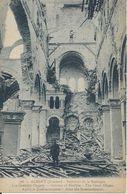 CPA   France  80  Somme   Albert  Guerre 1914 – 1916  Intérieur De La Basilique  Les Grandes Orgues - Guerre 1914-18