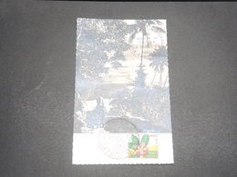 WALLIS & FUTUNA - Carte Maximum De Fleurs En 1958 - L 12304 - Maximum Cards