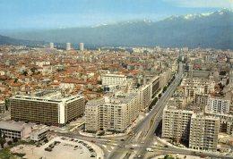 Grenoble Vue Generale Les Grands Boulevards Et La Chaine De Belledonne  (LOT GA) - Grenoble