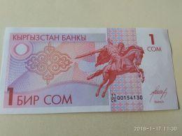 1 Soms 1993 - Kirghizistan