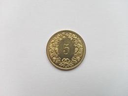 5 Rappen Münze Schweiz 2011 (vorzüglich) - Schweiz
