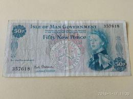 50 Pence 1979 - [ 4] Isle Of Man / Channel Island