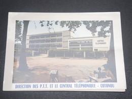 DAHOMEY - Carte Souvenir Meilleurs Voeux Des PTT  De Cotonou En 1968 - L 12306 - Bénin – Dahomey (1960-...)