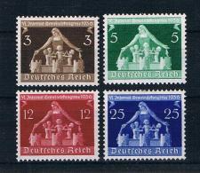 Deutsches Reich 1936 Mi.Nr. 617/20 Kpl. Satz Ungebraucht * - Germania