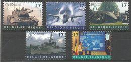 Belgium - 1999 NATO Anniversary MNH **    Sc 1728-32 - Unused Stamps