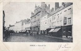 NAMUR / RUE DE FER / COMMERCES / ATTELAGE  1903 - Namur