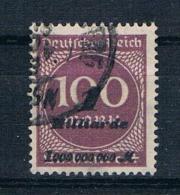 Deutsches Reich 1923 Mi.Nr. 331 B Gest. Geprüft - Deutschland