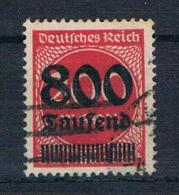 Deutsches Reich 1923 Mi.Nr. 303 Gest. Geprüft - Deutschland