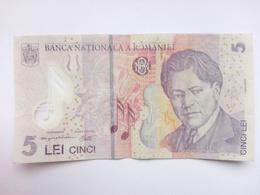 5 Leu Banknote Rumänien 2005 (2006) (sehr Schön Bis Vorzüglich) - Rumänien