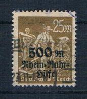 Deutsches Reich 1923 Mi.Nr. 259 Gest. Geprüft - Deutschland
