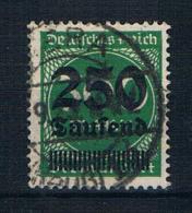 Deutsches Reich 1923 Mi.Nr. 293 Gest. Geprüft - Allemagne