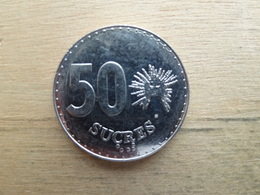 Equateur  50  Sucres  1991  Km 93 - Ecuador