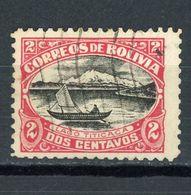 BOLIVIE : DIVERS N° Yvert 106 Obli. - Bolivia