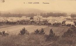 HAN SUR LESSE / PANORAMA / VUE SUR LE CENTRE DU VILLAGE - Rochefort
