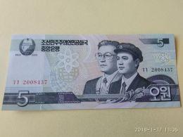 5 Won 2002 - Corea Del Nord