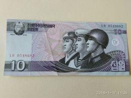 10 Won 2002 - Corea Del Nord