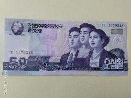 50 Won 2002 - Corea Del Nord