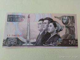 50 Won 1992 - Corea Del Nord