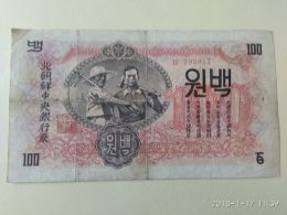 100 Won 1947 - Corea Del Nord