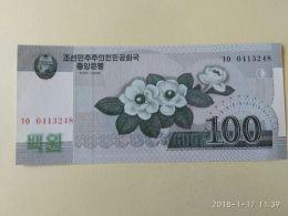 100 Won 2002-09 - Corea Del Nord