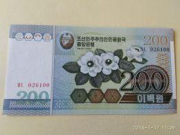200 Won 2005 - Corea Del Nord