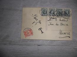 Timbre Taxe  Takszegel ( 2927 )  Op Fantasiekaart Met Stempel  NINOVE  1928 - Taxes