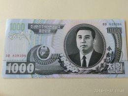 1000 Won 2002 - Corea Del Nord