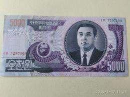 5000 Won 2006 - Corea Del Nord