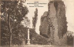 39 - Montmirey-le-Château - Les Ruines Du Château - Autres Communes