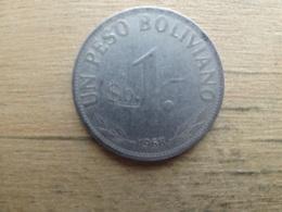 Bolivie  1  Peso Boliviano  1968  Km 192 - Bolivia