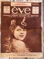 Eve Journal Feminin Mode Actualite Publicites Meg Lemonnier 23 Septembre1934 - Autres