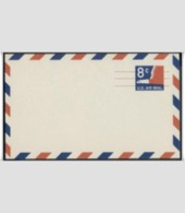 US Scott # UXC9 8¢ Eagle Airmail Precanceled Postal Card MNH - Postal Stationery
