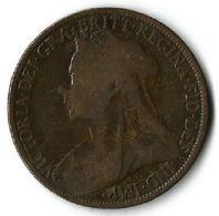 Pièce De Monnaie  1 Penny 1897 - D. 1 Penny