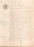 ACTE NOTARIE DU 2 AVRIL 1847 VENTE D UNE MAISON A EVREUX - Manoscritti