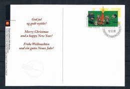 Norwegen 1999 Weihnachtskarte Gestempelt - Norwegen