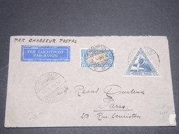 """INDES NÉERLANDAISES  - Enveloppe Par """" Chasseur Postal """" De Bandoeng Pour Paris En 1934 - L 12318 - Indes Néerlandaises"""