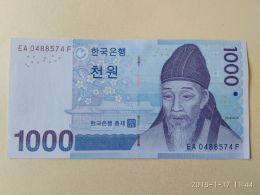 1000 Won 2007 - Corea Del Sud