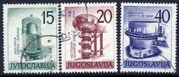 YUGOSLAVIA 1960 Nuclear Enenrgy Exhibition, Used.  Michel 927-29 - 1945-1992 Socialist Federal Republic Of Yugoslavia