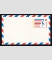 Scott # UXC14 11¢ Modern Eagle Airmail Postal Card Mint - Postal Stationery