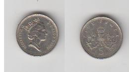 FIVE PENCE 1992 - 1971-… : Monnaies Décimales