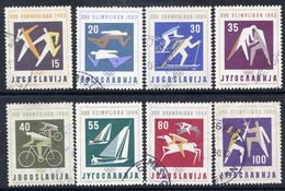 YUGOSLAVIA 1960 Olympic Games, Used.  Michel 909-16 - 1945-1992 Socialist Federal Republic Of Yugoslavia