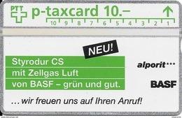 PTT P: KP-95/15 501L BASF (Schweiz) AG - Alporit. Mint - Switzerland