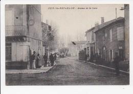 CPA 13 PUY STE REPARADE Avenue De La Gare - Autres Communes