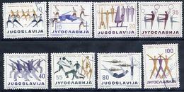 YUGOSLAVIA 1959 Sports Union, Used.  Michel 900-907 - 1945-1992 Socialist Federal Republic Of Yugoslavia
